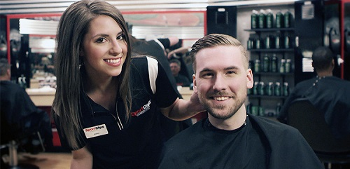 Sport Clips Haircuts of Greenville​ stylist hair cut